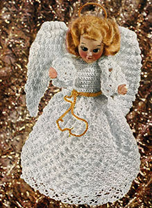 Tree Top Christmas Angel Pattern