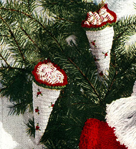 Cornucopia Ornament Pattern