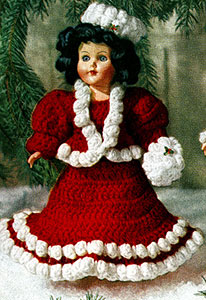 Mary Christmas Doll Pattern