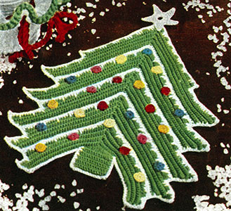 Christmas Tree Potholder Pattern