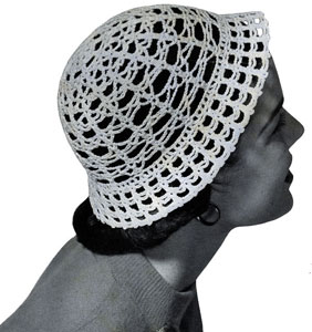 Lacy Cloche Pattern