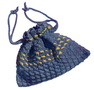 Drawstring Knitting Bag Pattern | Crochet Patterns