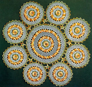 Large Doily Pattern Crochet Patterns