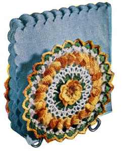 Napkin Holder Cover Pattern Crochet Patterns