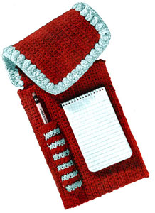 Notepaper and Pencil Case Pattern