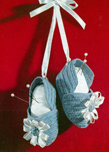 Baby Booties Pin Cushion Pattern