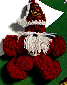 Santa Claus Ornament Pattern