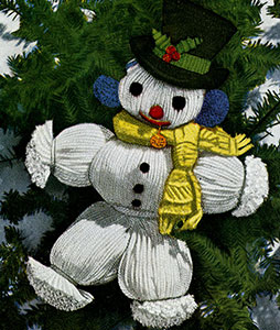 Snowman Ornament Pattern