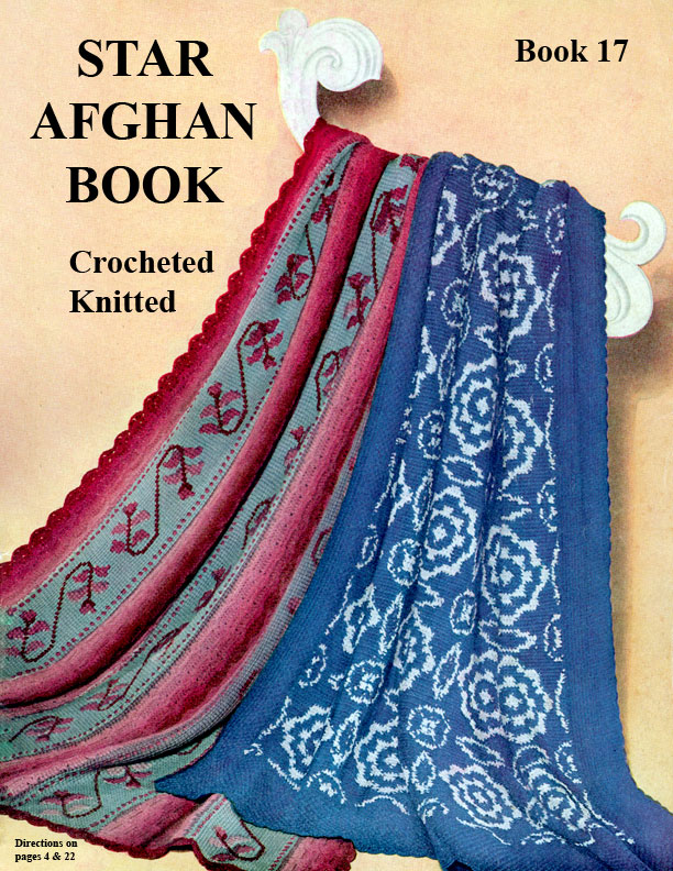 Star Afghan Book 17 | American Thread Company