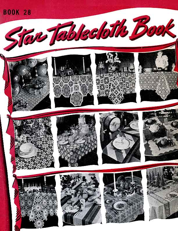 Star Tablecloth Book | Book 28 | American Thread Company