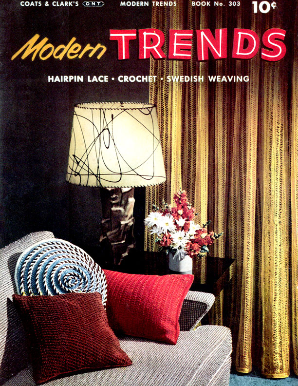 Modern Trends | Book No. 303 | Coats & Clark's O.N.T.