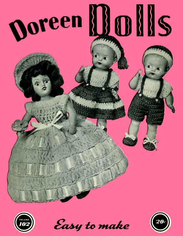 Dolls | Volume 102 | Doreen Knitting Books