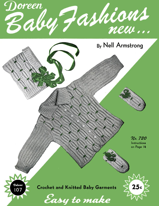 Baby Fashions New | Volume 107 | Doreen Knitting Books