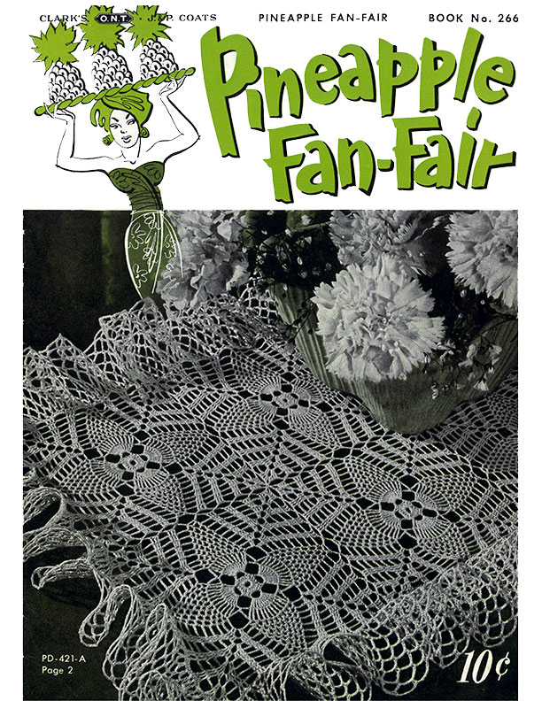 Pineapple Fan-Fair | Book No. 266 | The Spool Cotton Company