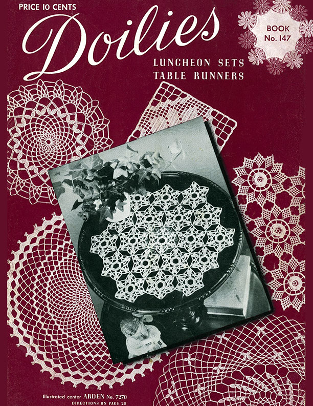 Doilies | Book No. 147 | The Spool Cotton Company