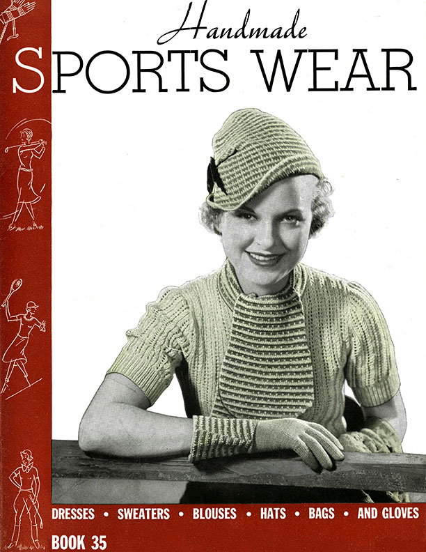 Handmade Sports Wear | Book No. 35 | The Spool Cotton Company