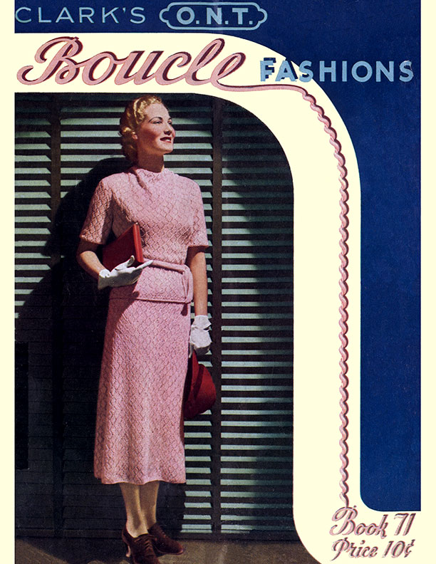 Boucle Fashions | Book No. 71 | The Clark Thread Company