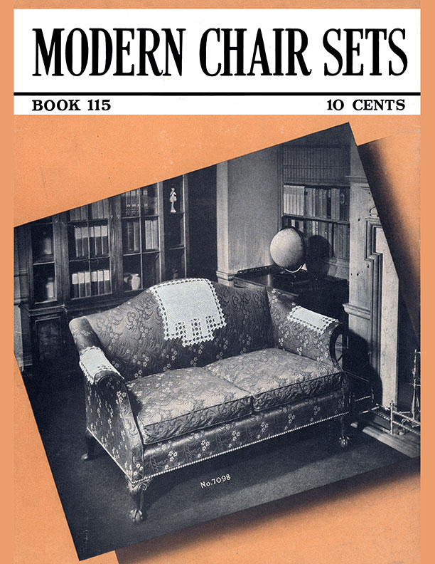 Modern Chair Sets | Book No. 115 | The Spool Cotton Company