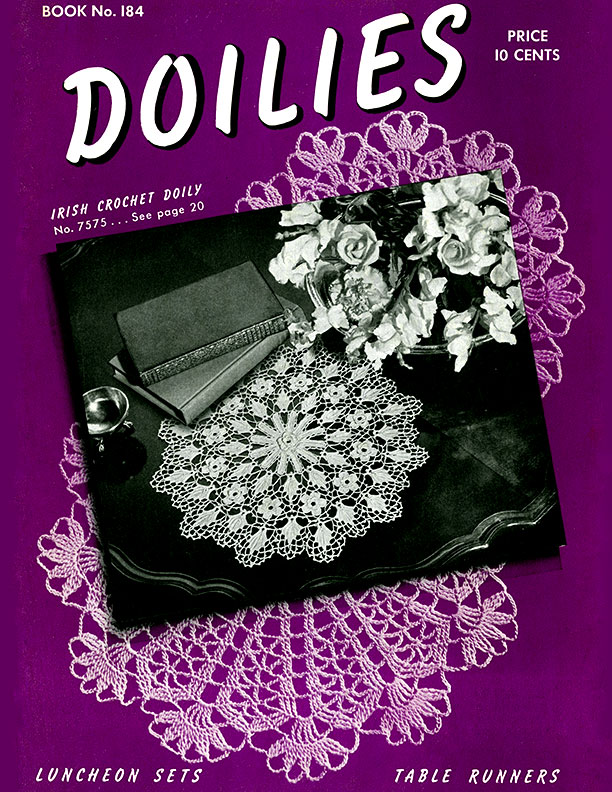 Doilies | Book No. 184 | The Spool Cotton Company