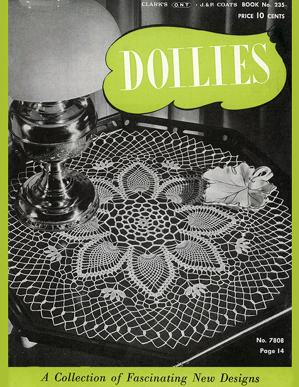 Doilies | Book No. 235 | The Spool Cotton Company