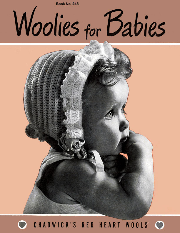 Woolies for Babies | Book No. 245 | The Spool Cotton Company