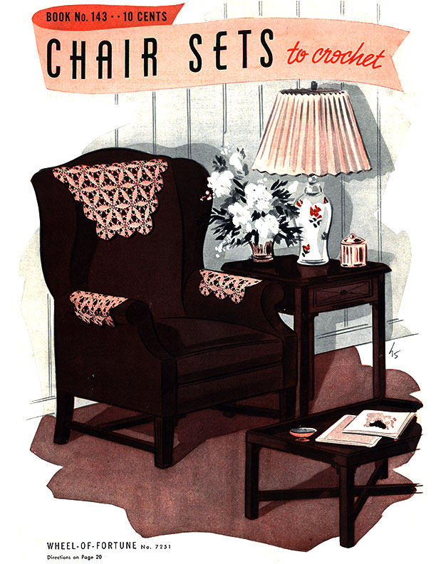 Chair Sets to Crochet | Book No. 143 | The Spool Cotton Company