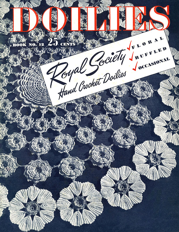 Doilies | Book No. 12 | Hand Crochet by Royal Society