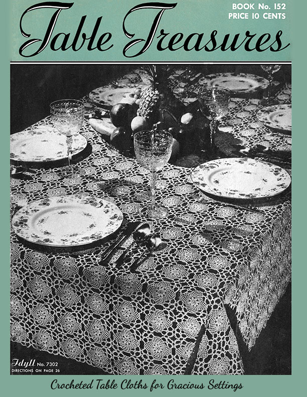 Table Treasures | Book No. 152 | The Spool Cotton Company