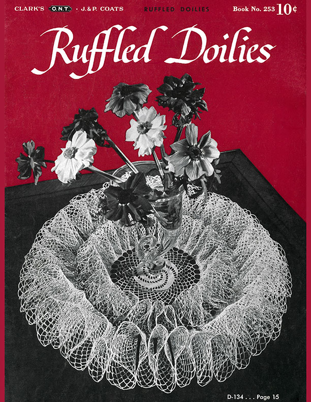 Ruffled Doilies | Book No. 253 | The Spool Cotton Company