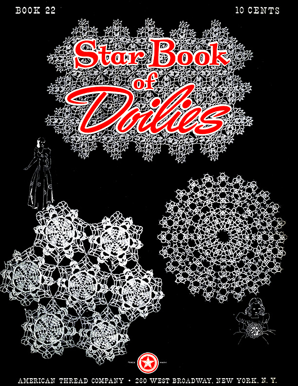 Star Book of Doilies | Book 22 | American Thread Company