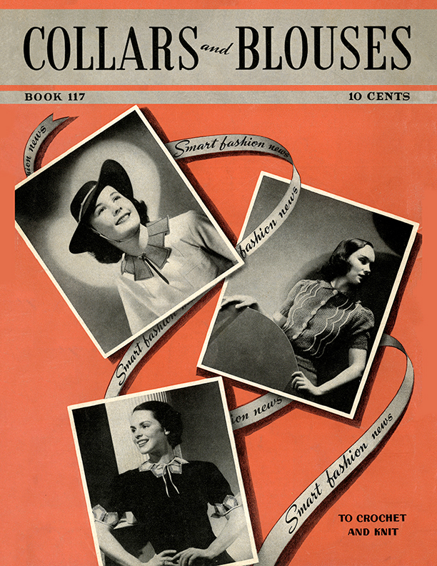 Collars and Blouses | Book No. 117 | The Spool Cotton Company