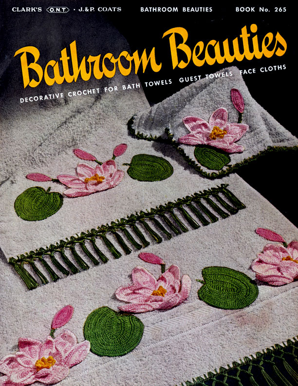Bathroom Beauties | Book No. 265 | The Spool Cotton Company
