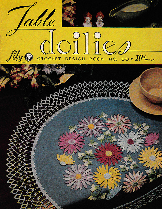 Table Doilies | Book 60 | Lily Mills Company