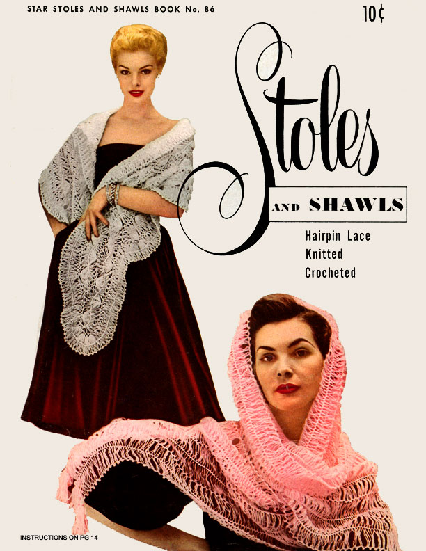 Stoles and Shawls | Book 86 | American Thread Company