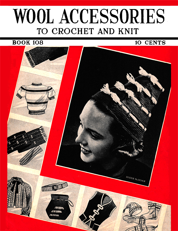 Wool Accessories | Book No. 108 | The Spool Cotton Company
