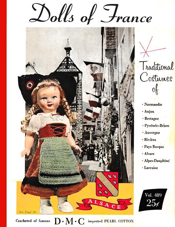 Dolls of France | DMC Volume 409