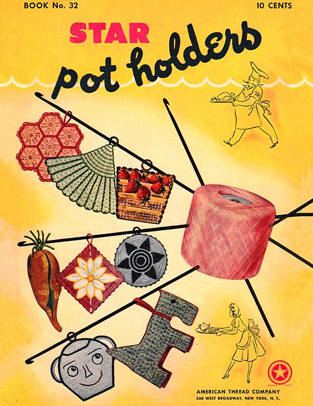 Star Pot Holders | Book 32 | American Thread Company