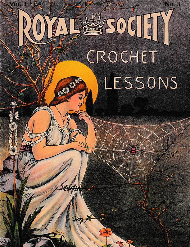 Crochet Lessons | Volume 1 Number 3 | Royal Society