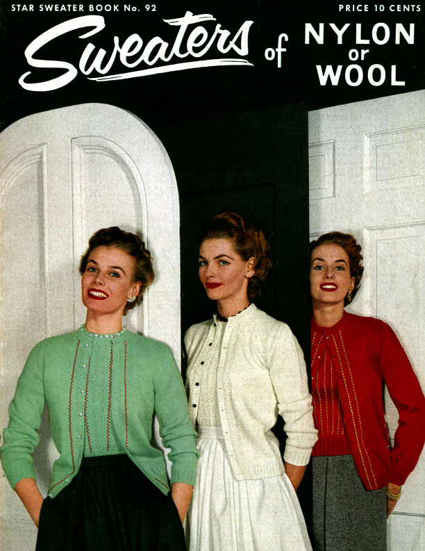 Sweaters of Nylon or Wool | Star Book No. 92 | American Thread Company