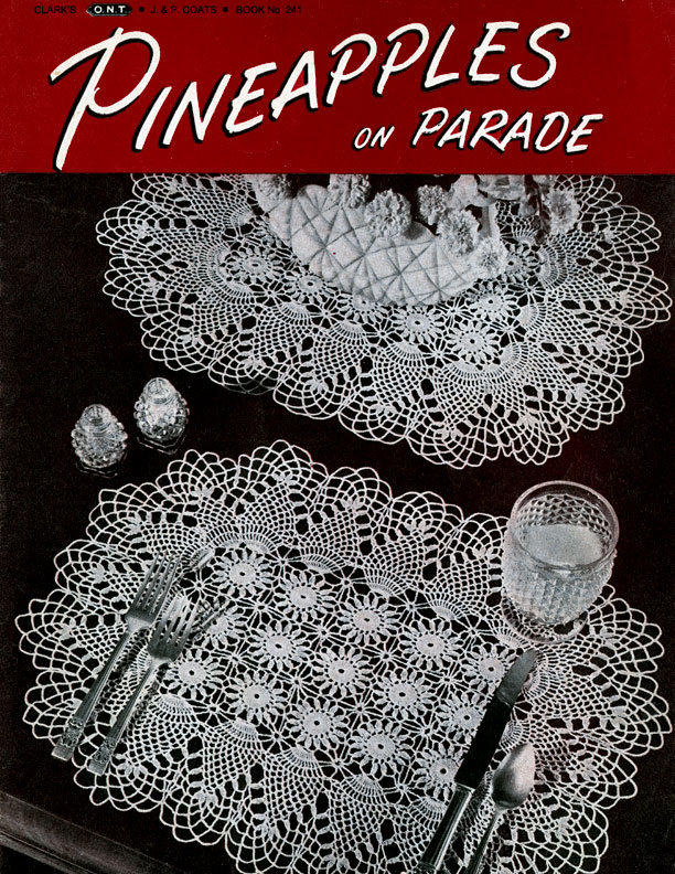 Pineapples on Parade | Book No. 241 | The Spool Cotton Company