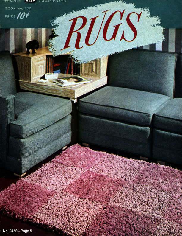 Rugs | Book No. 237 | The Spool Cotton Company