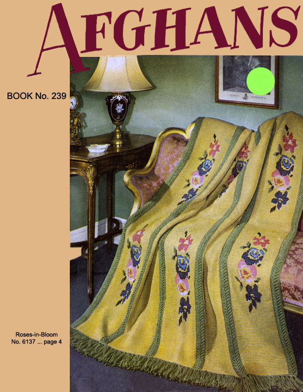Afghans | Book No. 239 | The Spool Cotton Company