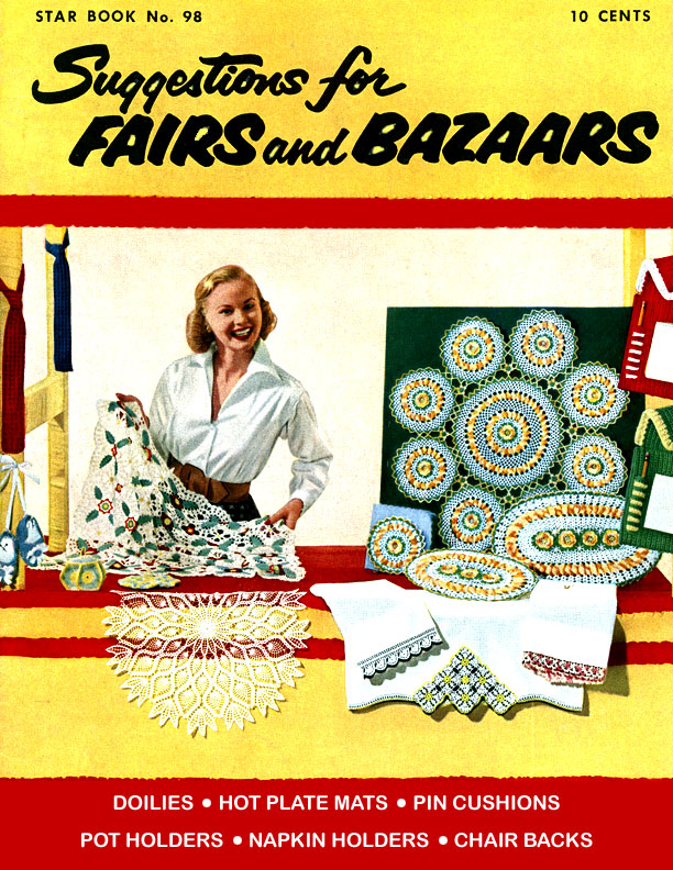 Suggestions for Fairs and Bazaars | Star Book No. 98 | American Thread Company