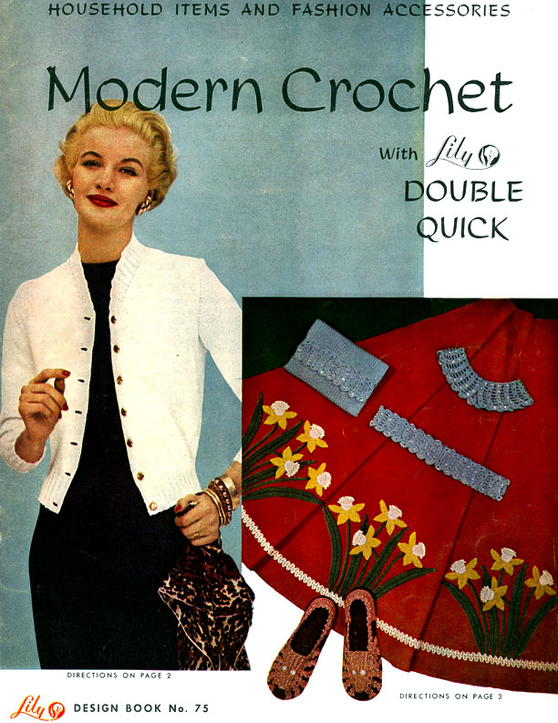 Modern Crochet | Lily Design Book No. 75